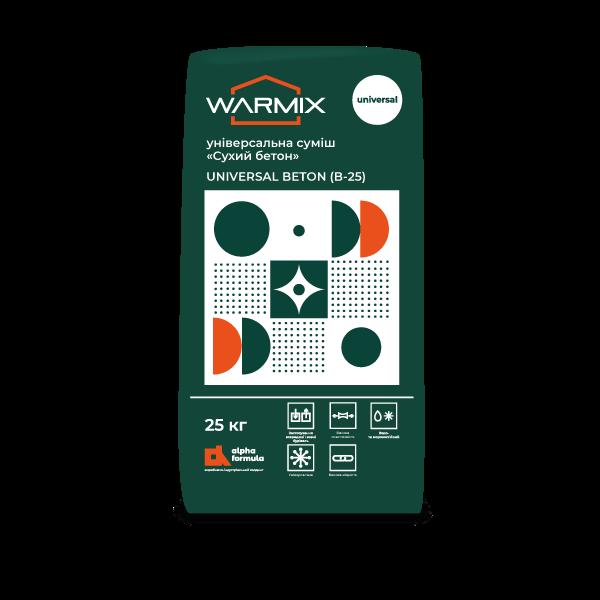 WARMix Universal Beton B-25