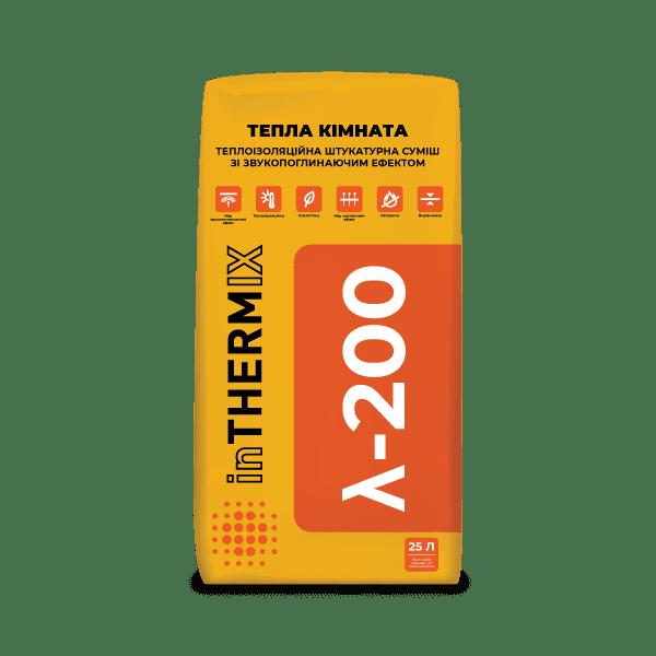 inTHERMIX  λ-200 ТЕПЛА КІМНАТА