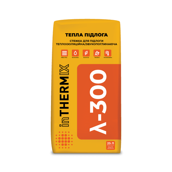 inTHERMIX λ-300 ТЕПЛА ПІДЛОГА