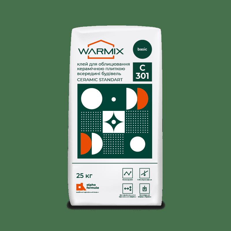 WARMIX C 301 CERAMIC STANDART